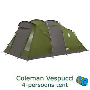 Coleman Vespucci 4-persoons tunneltent