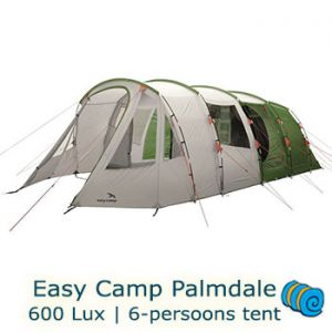 Easy Camp Palmdale 600 Lux 6-persoons tunneltent