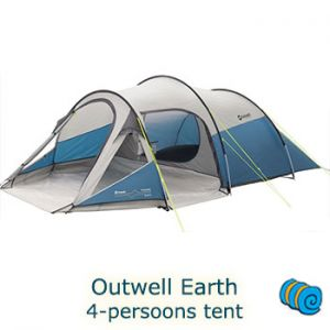 Outwell Earth 4-persoons tent