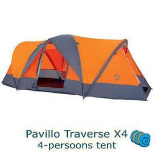 Pavillo Traverse X4 uitgebouwde koepeltent